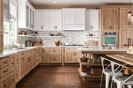 spacious kitchen design with white granite countertop and best wood schuler kitchen cabinets kitchen
