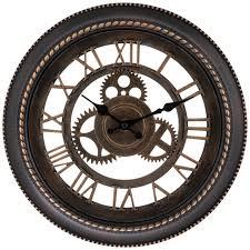 bronze gear wall clock hobby lobby