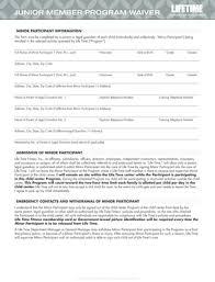 fillable junior member program waiver lifetime fitness fax