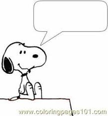 Small Picture Snoopy 1 Med Coloring Page Free Snoopy Coloring Pages