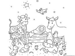 Small Picture Christmas Nativity Coloring Pages 1111