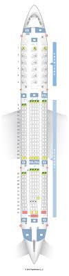Seat Map Hawaiian Airlines Airbus A330 200 Unbiased 332