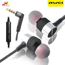 <b>AWEI ES</b>-<b>20TY</b> In-ear Foldable Wired Stereo Music Earphones ...
