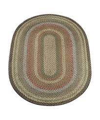 details about fir ivory 4 x6 oval braided jute rug 06 051
