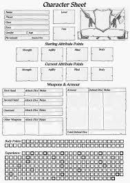 hero forge character sheet ye olde inns community blog on heroquest character sheet for