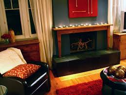 fireplace interior design. painted fireplace interior design