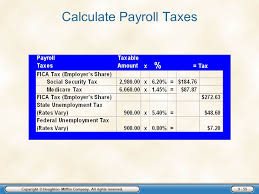 How Are Payroll Taxes Calculated Employer Taxes Payments And Reports Ppt Download