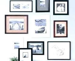 collage frame set wall picture frames sets gallery modern mix and match for remodel white photo