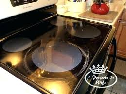 how to clean flat top stove cleaning glass top stove glass stove top cleaner using baking powder to clean stove top plus
