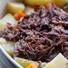 slow cooker roast beef one pot dinner
