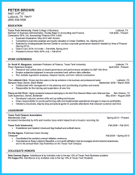 Resume For Education Major Double Major Resume College Student Flexible Also Myfirsttemplate 20