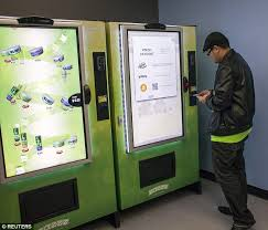 Vending Machines For Sale Los Angeles Stunning Medical Marijuana Vending Machine Which Is First To Sell Cannabis