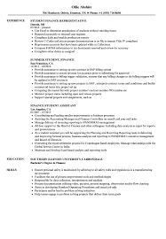 Complete guide with sample sentences, writing tips and templates. Finance Student Resume Samples Velvet Jobs