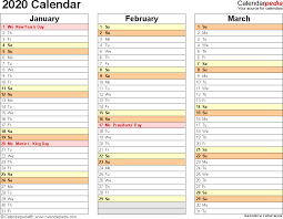 Plain Calendar 2020 2020 Calendar Download 18 Free Printable Excel Templates