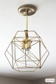 you could spend hundreds of dollars on a geometric globe pendant light or you could