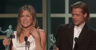 Jennifer Aniston e Brad Pitt ai SAG Awards 2020, foto e video