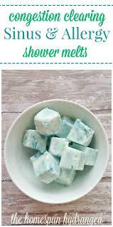Homemade Vapor Rub Shower Cubes