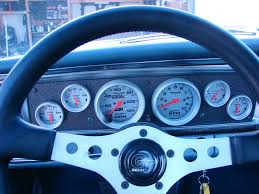 installing aftermarket gauges in your classic car rod authority there were no choices to color match your paint or interior no special fonts or backgrounds and the back lighting was limited to a bulb cover that didn t
