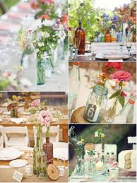 Glass Jar Table Decorations Vintage Glass Bottle Centerpieces Glitter Inc 9