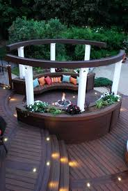 best deck fire pit protection outdoor safety of for wood concept and ideas