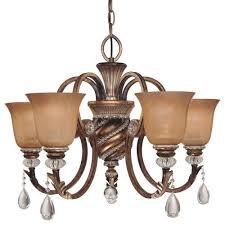 minka lavery 174 206 aston court crystal 1 tier chandelier lighting 5 light 60