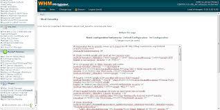 Installation du Mod Security sur le WHM « Sécurisation Linux ...