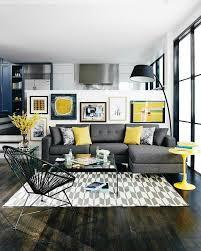 living room grey yellow living room