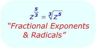 simplifying radicals fractional