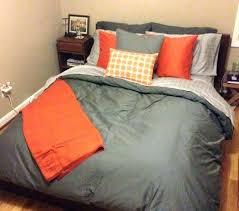 navy and orange bedding orange and gray bedding navy grey and orange crib bedding