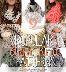 Arm Knitting Patterns Classy 48 Popular Arm Knit Patterns SimplyMaggie