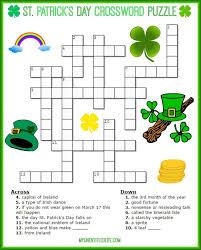 st patrick s day crossword puzzle
