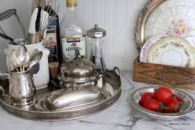 Decorating With Silver Trays Maison Decor Decorating with Silver 6