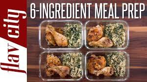 6 Ingredient Meal Prep Easiest Meal Prepping In History