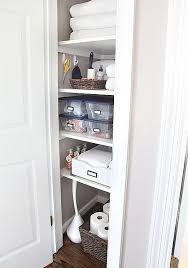 bathroom closet shelving. cool bathroom closet shelving with best 10 organization ideas on pinterest