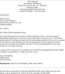 Cover Letter For Admin Clerk Google Docs Templates Cover Letter Cover Letter Hospital Clerk