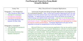 Sample Expository Essay Expository Essay Sample Academic Guide