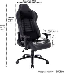 8192Grey Blue <b>Whale</b> Gaming <b>Chair PC Computer Chair</b> with ...