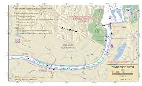 Tennessee River Navigation Charts Paducah Kentucky To