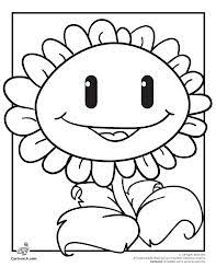 Plants Vs Zombies Free Printable Coloring Pages For Kids