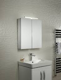 bathroom cabinet lighting. Additional Image Of Tavistock Conduct Double Door Mirror Cabinet With LED Lighting-CO60AL Bathroom Lighting D