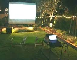 outdoor projector theater themed classroom to build an backyard tv vs outdoor enclosure tv projector setup
