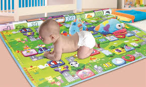 23% f on Two Elephants Baby Play Mat