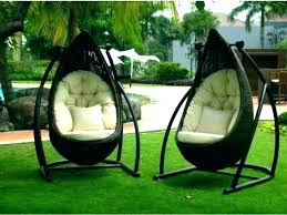 cane chair swing rattan with stand hanging outdoor furniture pod perth chai