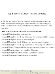 resumes for dental assistant resume dental assistant resume example templates elegant