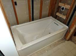bathtubs kohler cast iron bathtub dimensions kohler tub dimensions