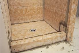 schluter kerdi membrane shower san go marble tile