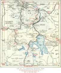 map usa yellowstone park  lapiccolaitaliainfo
