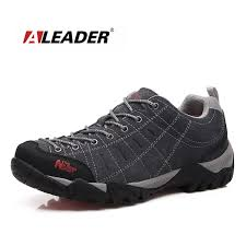 waterproof men women leather hiking shoes low new 2016 sport sneakers for man womens outdoor shoes trekking sapatos masculino