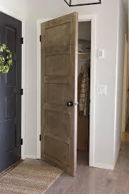 diy rustic door