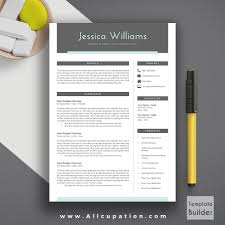 modern resume template cover letter references ms office word modern resume template cover letter 1 2 3 page template references word creative professional resume jessica